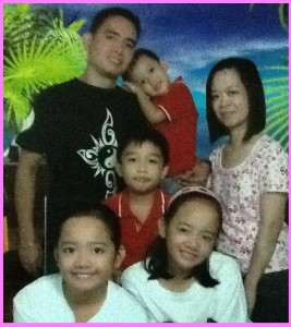 Mommy Brenda Gacho and family