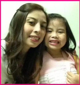 Mommy Eci with Baby Jerci Ramos Cabanlong
