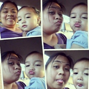 Mommy Ghenn with Baby Gabriel Bagagnan, Dubai
