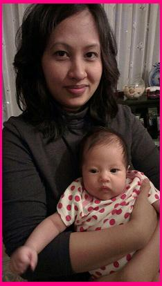 Mommy Jennileth and Baby Lily Smajlovic
