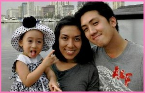 Mommy Jenny with Baby Mikay and Daddy Mike Amarillo