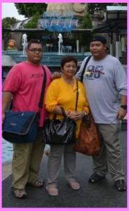 Mommy Linda with Ryan and Allan Tizon