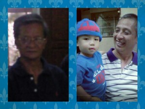 Daddy Noel Nicolas with Tatay Carling and Manman