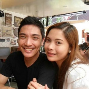 Joel Cordova and wife, Bianca
