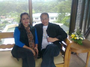 Mr. Mamerto Rodriguez with wife, Mrs. Ludy Rodriguez