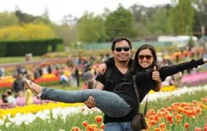 Pao Fernandez with wife, Kath