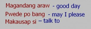 how to ask in tagalog when you are looking for a person