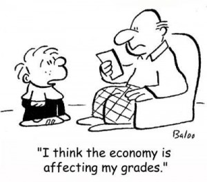 I hope my children won't reason our economy :-) source: zenmischief.blogspot.com