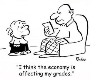 I hope my children won't reason our economy :-) source: zenmischief.blogspot.com